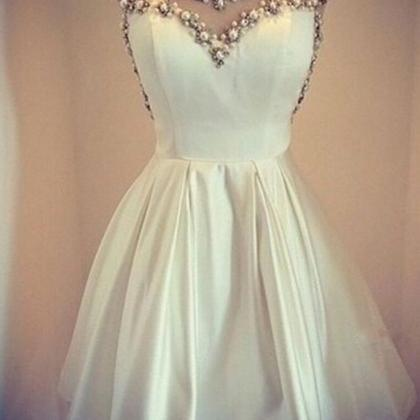 Charming Prom Dress,Beaded Prom Dre..