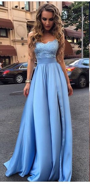 Lace Prom Dress,Bodice Prom Dress,Maxi Prom Dress,Fashion Prom Dress,Sexy Party Dress, New Style Evening Dress