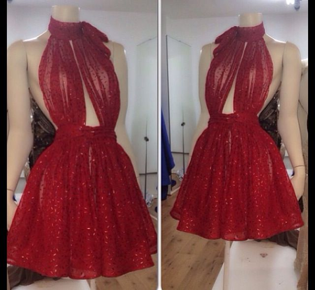 Backless Prom Dress,Halter Prom Dress,Mini Prom Dress,Fashion Homecoming Dress,Sexy Party Dress, New Style Evening Dress