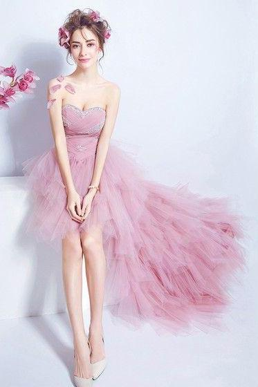 Tulle Prom Dresses, Short Homecoming Dress,Fashion Homecoming Dress,Sexy Party Dress,Custom Made Evening Dress