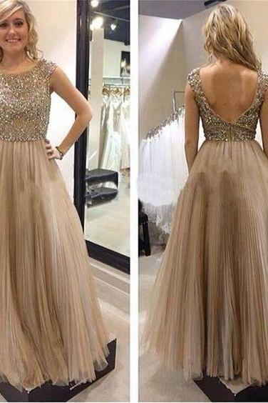 Charming Prom Dress,Beading Prom Dress,Fashion Prom Dress,Sexy Party Dress,Custom Made Evening Dress