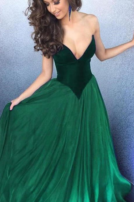 Modest Quinceanera Dress,Green Prom Dress,Fashion Prom Dress,Sexy Party Dress,Custom Made Evening Dress