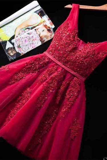 Beaded Prom Dress,Lace Prom Dress,Fashion Homecoming Dress,Sexy Party Dress,Custom Made Evening Dress