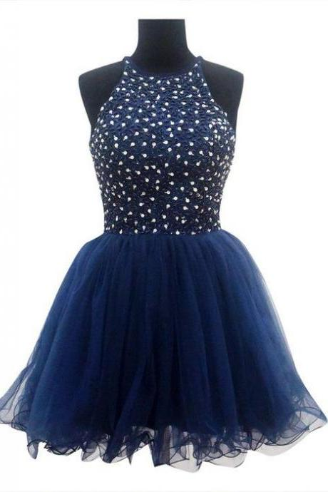 Beaded Prom Dresses,Short Homecoming Dresses,Fashion Homecoming Dress,Sexy Party Dress,Custom Made Evening Dress