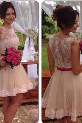 Lace Homecoming Dress,Tulle Homecoming Dress,Cute Homecoming Dress, Fashion Homecoming Dress,Short Prom Dress