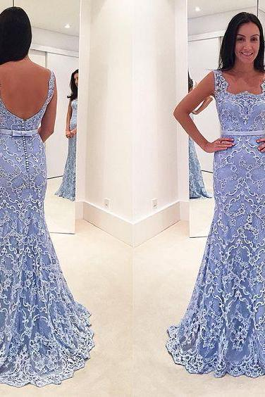 Elegant Prom Dress,Applique Prom Dress,Mermaid Prom Dress,Fashion Prom Dress,Sexy Party Dress, 2017 New Evening Dress
