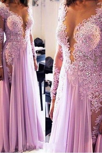 Beaded Prom Dress,Applique Prom Dress,Mermaid Prom Dress,Fashion Prom Dress,Sexy Party Dress, 2017 New Evening Dress