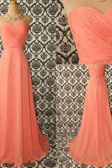 Orange Prom Dress,Sweetheart Prom Dress,Bodice Prom Dress,Fashion Prom Dress,Sexy Party Dress, 2017 New Evening Dress