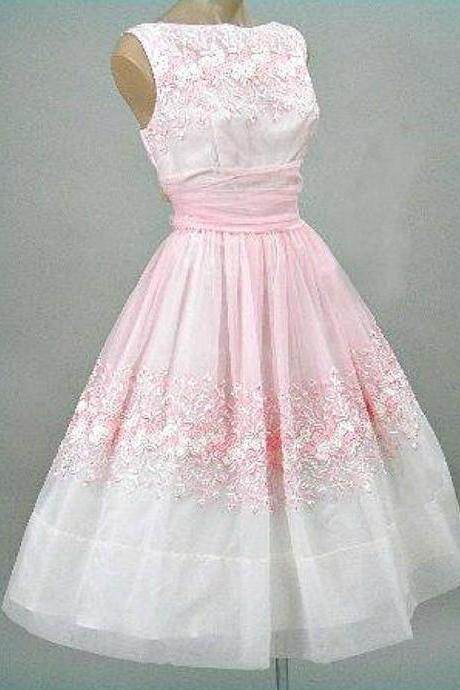 Pink Prom Dress,Applique Prom Dress,A Line Prom Dress,Fashion Homecoming Dress,Sexy Party Dress, New Style Evening Dress