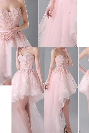 Sweetheart Prom Dress,Pink Prom Dress,Sequins Prom Dress,Fashion Homecoming Dress,Sexy Party Dress, New Style Evening Dress