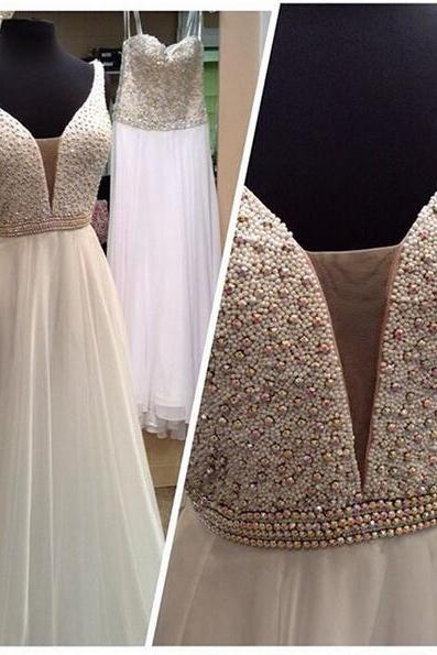 Beaded Prom Dress,Maxi Prom Dress,Charming Prom Dress,Fashion Prom Dress,Sexy Party Dress, New Style Evening Dress
