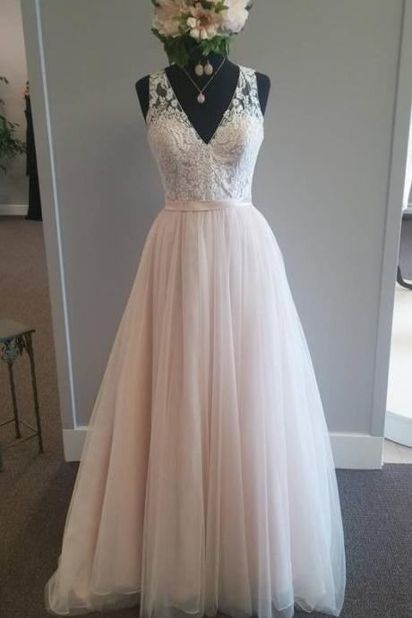 Charming Prom Dress,Lace Prom Dress,A Line Prom Dress,Fashion Bridesmaid Dress,Sexy Party Dress, New Style Evening Dress