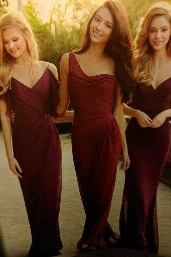 Charming Prom Dress,Sheath Prom Dress,Maxi Prom Dress,Fashion Bridesmaid Dress,Sexy Party Dress, New Style Evening Dress