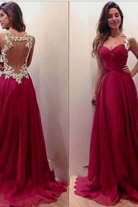Backless Prom Dress,Sweetheart Prom Dress,Floral Prom Dress,Fashion Prom Dress,Sexy Party Dress, New Style Evening Dress