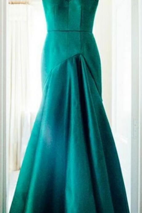 Mermaid Prom Dress,Zipper Prom Dress,Satin Prom Dress,Fashion Prom Dress,Sexy Party Dress, New Style Evening Dress