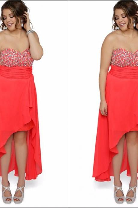 Plus Size Prom Dress,Sweetheart Prom Dress,Beaded Prom Dress,Fashion Prom Dress,Sexy Party Dress, New Style Evening Dress