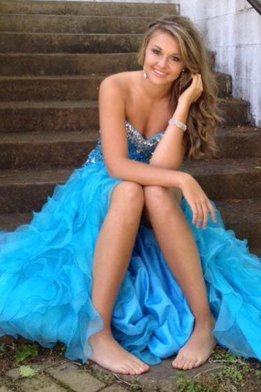 Blue Prom Dress,Sweetheart Prom Dress,Fashion Prom Dress,Sexy Party Dress,Custom Made Evening Dress