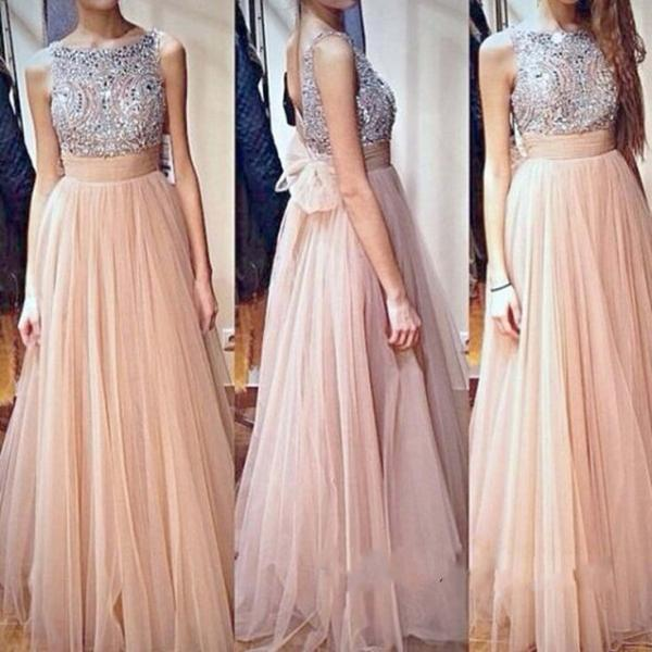 Beaded Prom Dress,Illusion Prom Dress,Backless Prom Dress,Fashion Prom Dress,Sexy Party Dress, New Style Evening Dress