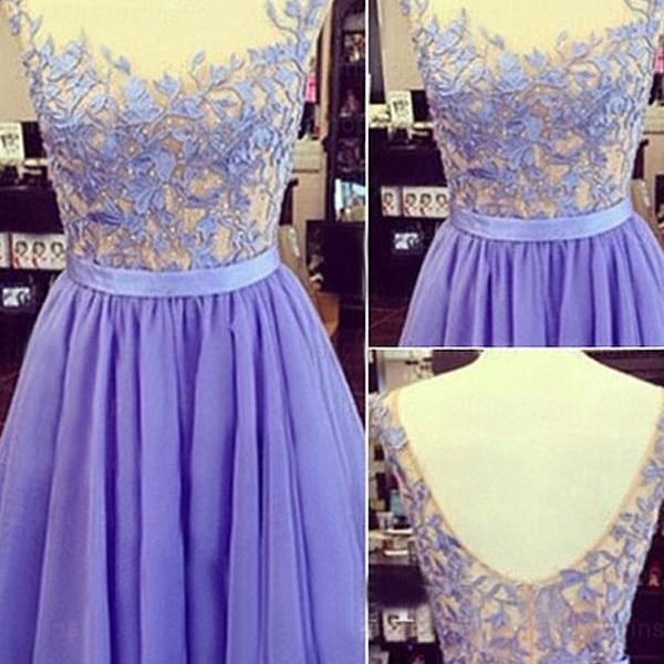 Lavender Prom Dress,Backless Prom Dress,Bodice Prom Dress,Fashion Homecoming Dress,Sexy Party Dress, New Style Evening Dress